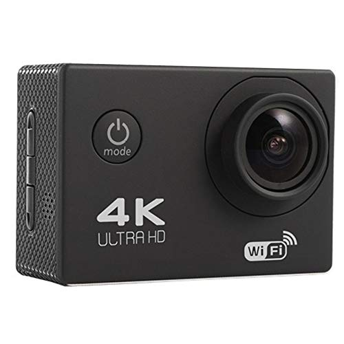 Gizayen Wireless WiFi Action Camera HD 4K Waterproof Wide Angle 2.0 inch Screen for Outdoor Sports