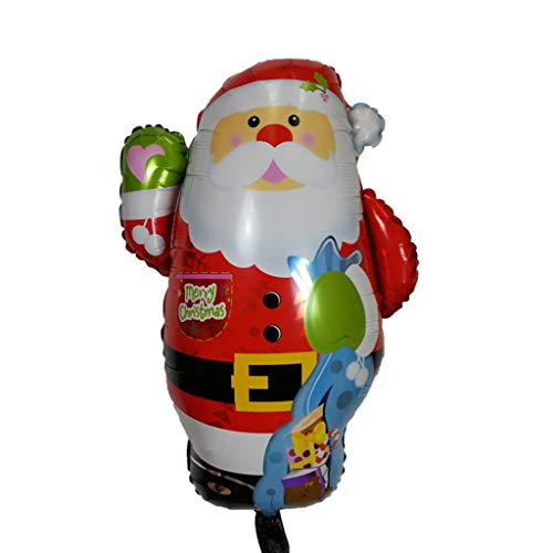 Huyiko Luftballons aus Aluminiumfolie, Weihnachten, GIF, Luftballons, Geburtstag, Weihnachtsfeier, Dezember