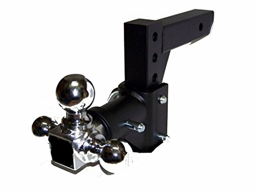 Sale!! (Best tools) H D Tri-ball Swivel Adjustable Trailer Tow Drop Hitch Ball Mount 2 Receiver
