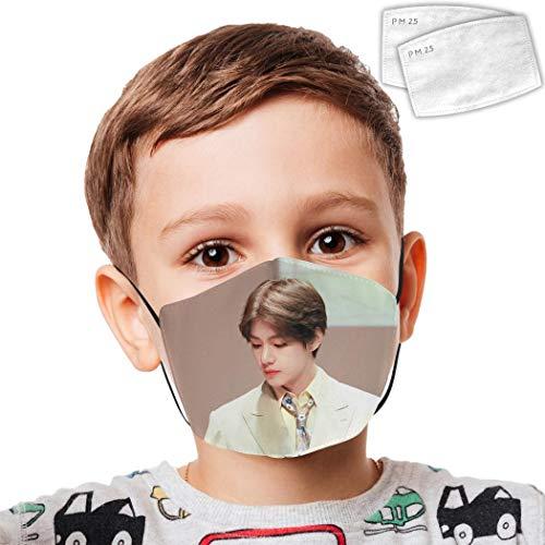 Protective Bandanas Bts V Anti-Dust Mouth Washable Reusable Windproof Boys Girls Kids