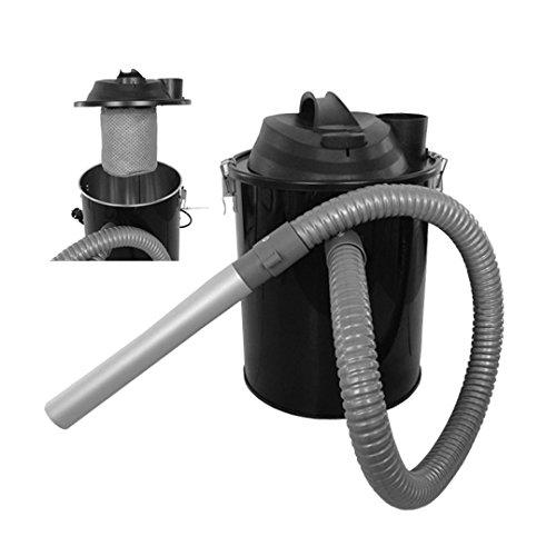 Aschesauger für Pelletöfen 800W mit Speer und Rohr aus Aluminium