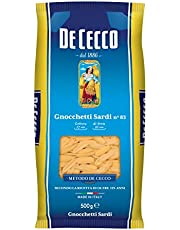 10x Pasta de cecco 100% Italiano gnocchetti sardi N. 83Pasta 500g