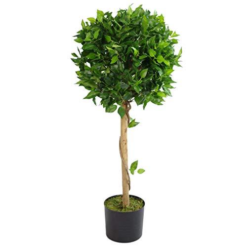 Künstlicher Buchsbaum, Blätter, 100 cm, Grün