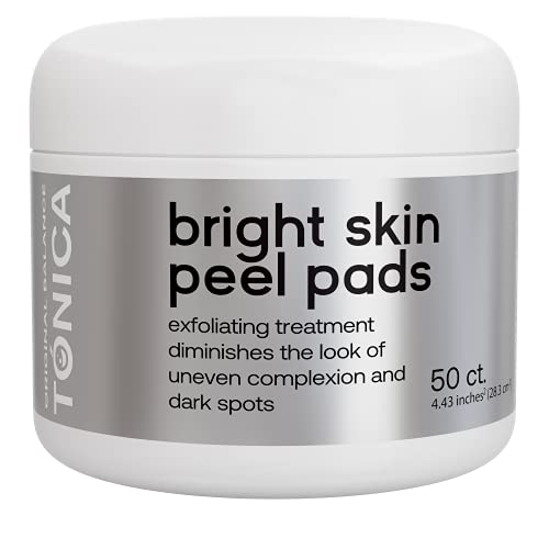 Face Pads, Exfoliating Pads with Salicylic Acid and Mandelic Acid,...