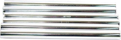 Plumb-Pak Radsnap Rohrverkleidung für Heizkörper, Chromoptik, 1,5x20,2cm, 6 Stück