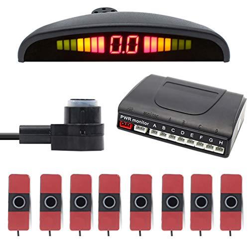 Find Discount Garneck Car Reverse Backup Radar System LED Distance Display Sensor Buzzer Beep Parkin...