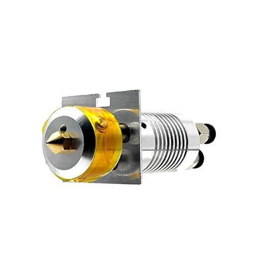 3-IN-1-OUT Hotend Buse 0.4mm 3D Imprimante Pièces Extrudeuse Alimentation Diamètre D'entrée 1.75 Filament Avec Réchauffeur Tube NTC Capteur Extrémité Chaude M3