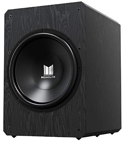 Monolith M10-S Sealed Powered Subwoofer - 10 Inch, 500 Watt, THX Certified
