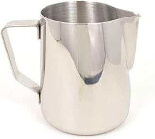 Rhino Coffee Gear RHMJ20oz 0799439358027 Milk Pitcher, 20 oz, Silver