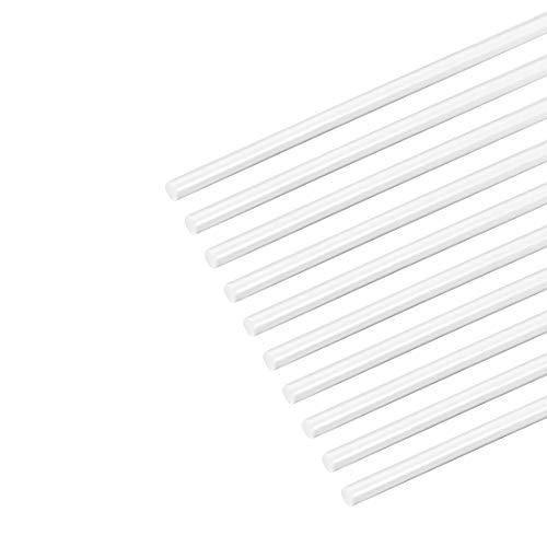 Alambre de soldadura de pl/ástico PC 4mm Triangulares Transparente 25 barra