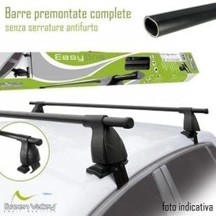 Barre Portatutto GREEN VALLEY EASY ONE QUICK per CITROEN C4 CACTUS acciaio