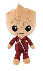 Funko Hero Plushies Groot in Ravager Jumpsuit