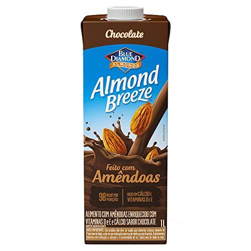 Alimento com Amêndoas Sabor Chocolate Almond Breeze 1L