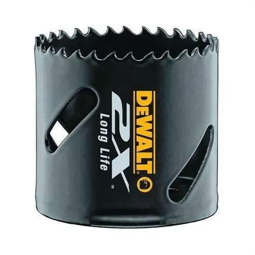 Dewalt DT8273L-QZ DT8273L-QZ-Juego de 11 piezas bi-metal EXTREME 2X. Coronas 16, 20, 25, 32, 35, 51, 64mm + 2 mandriles y 2 brocas piloto, 0 W, 0 V
