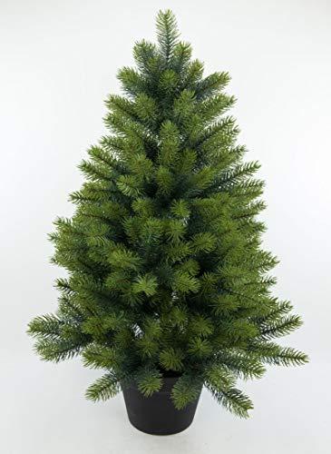 Edel - Tannenbaum III 92cm GA künstlicher Weihnachtsbaum Kunststanne Kunststoff Spritzguss-Verfahren 100% PE