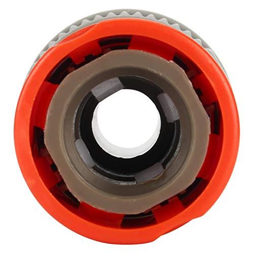 Jacksing Conector de tubería Material ABS ecológico Conector de tubería de Manguera de Agua, Equipo de riego, para riego de balcón Riego de jardín