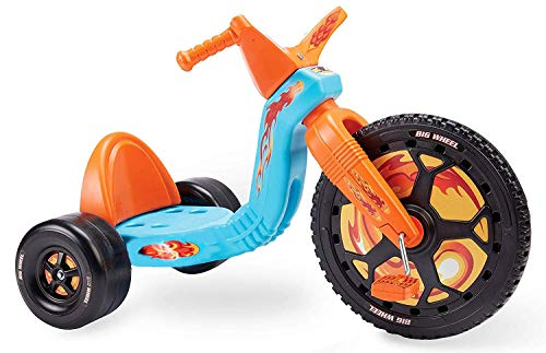 The Original Big Wheel 16 Inch Classic Tricycle - Made in USA - Orange