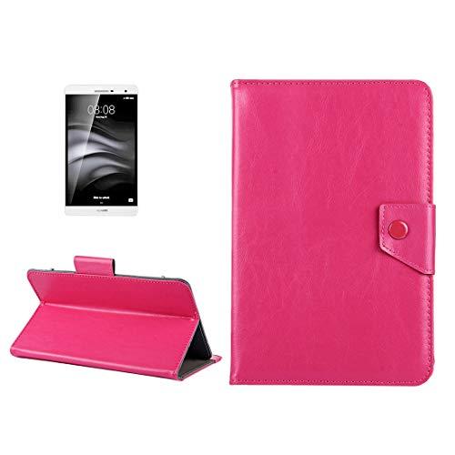 Funda de cuero para tableta de 7 pulgadas Crazy Horse textura Funda protectora de carcasa con soporte para Samsung Galaxy Tab A 7.0 (2016) / T280 y Tab 4 7.0 / T230 y Tab Q T2558, Colorfly G708, Asus