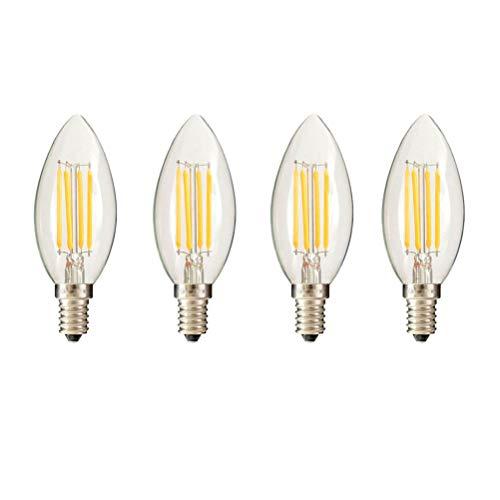 Uonlytech - Bombillas LED (5 unidades, E14, 220 V, luz blanca natural, 3000 K, intensidad no regulable, luz blanca cálida), vidrio, Bild 2, Größe 1
