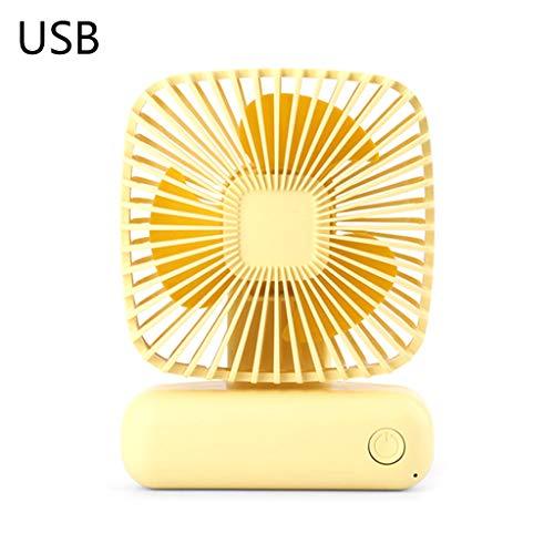 Xiangrun Fans USB, Mini-Fans Aus Tischventilator Oszillierende Fan Stille Aver 3 Geschwindigkeitsstufen Im Wind Haus Büro Und Auf Reisen