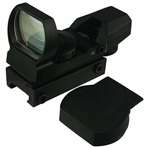 Field Sport Red and Green Reflex Sight with 4 Reticles Styles, Brightness Control with Dovetail Rail Mount