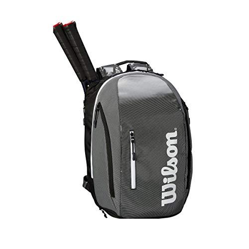 Wilson Super Tour Backpack, Black/Grey