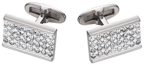 Joop! Herren-Manschettenknöpfe 925 Sterling Silber mit Anhänger JPCF90129A000
