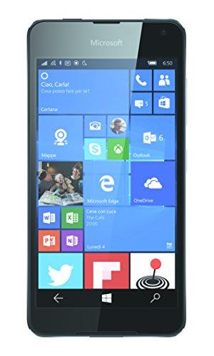 Microsoft Lumia 650 Smartphone da 16GB, Nero [Italia]