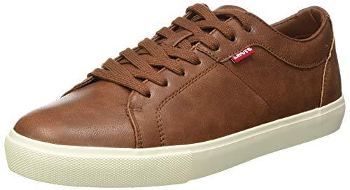 LEVIS FOOTWEAR AND ACCESORIOS WOODWARD, zapatillas de hombre, marrón, 43