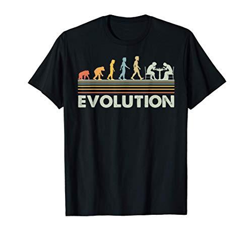 Evolución del ajedrez Camiseta