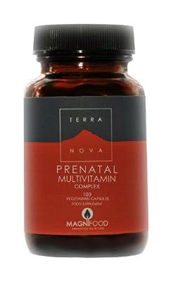 TERRANOVA Prenatal Multivitamin Complex - 100 Vegicaps by TerraNova
