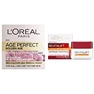 L'Oreal Age Perfect Golden Age Rosy Glow & Radiance Tinted Day Cream, Face Cream Moisturiser, Skin C...