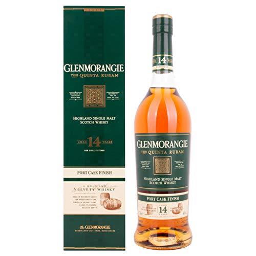 Glenmorangie The QUINTA RUBAN 14 Years Old Highland Single Malt Scotch Whisky +GB 46,00% 0.7 l.