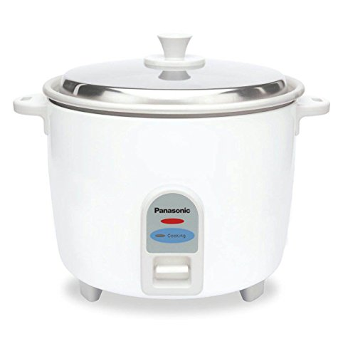 Panasonic SR-WA 18-J 660-Watt Rice Cooker (White)
