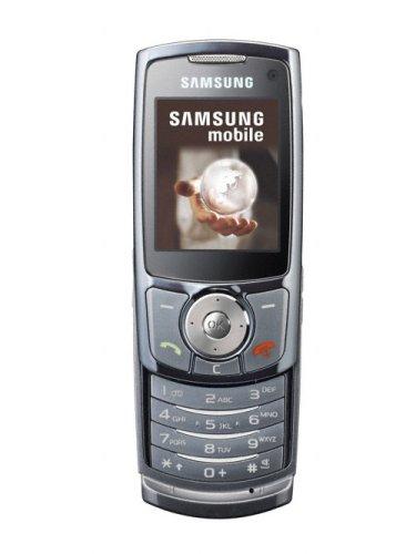 Samsung SGH-L760 Mobiltelefon UMTS / EDGE chrom-anthrazit