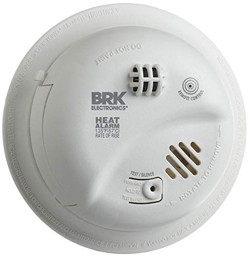BRK Brands HD6135FB Hardwire Heat Alarm with Battery Backup