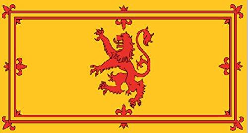 Schottland Löwe Fahne 1.5m x 0.9m