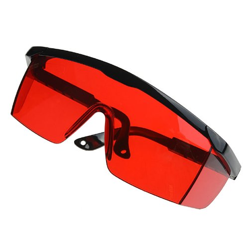 AZDENT Red Protection Goggle Glass Designed for Dental Curing Light Lamp