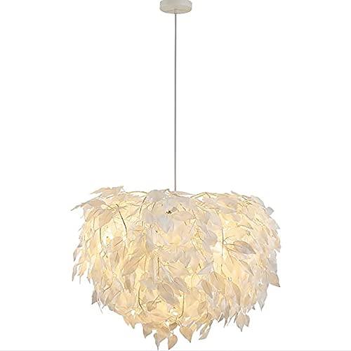 MTSBW Creative Nordic LED Lámpara Colgante de lámpara de Pluma Ajustable Tricolor Caliente Y ROMANTICO para Las Habitaciones para NIÑOS Restaurantes y Bares [Clase de energía]