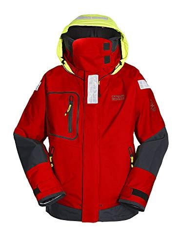 Compass Offshore Jacke Professional Unisex Damen/Herren rot Farbe rot, Größe H: XXXL