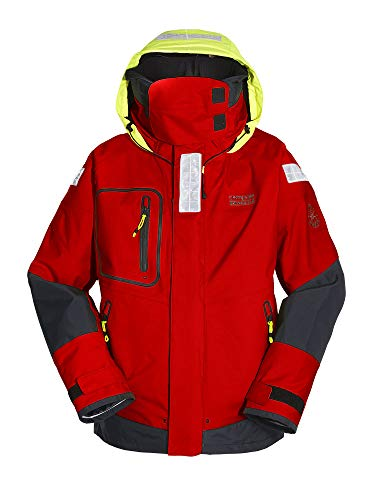 Compass Offshore Jacke Professional Unisex Damen/Herren rot Farbe rot, Größe H: M