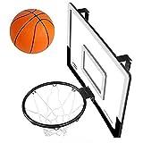 ZDW Junior Niños del aro de baloncesto, Tecnología monta en redondo y postes verticales, al aire libre los niños del aro de baloncesto Tipo colgante los hijos de los hijos de aro del aro de Inicio, p