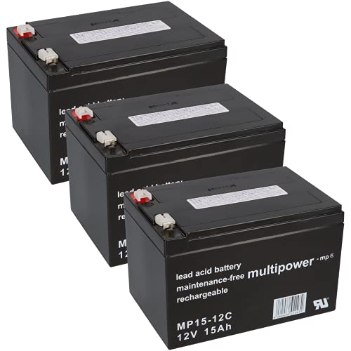 WSB Battery Juego de baterías de 36 V para patinete eléctrico (3...