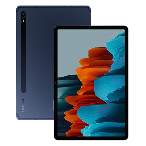 Samsung Galaxy Tab S7+ Wi-Fi Android Tablet 128 GB Mystic Navy (UK Version)
