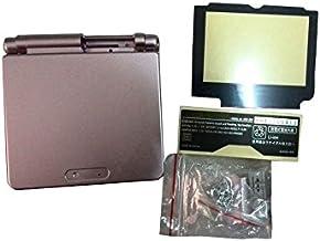 OSTENT Reemplazo de cubierta de carcasa de carcasa completa compatible para Nintendo GBA SP Gameboy Advance SP - Color rosa