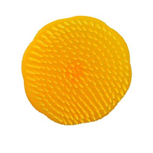Wuqiong Couleur aléatoire Forme de Fleur Portable Doux pour la Peau tête de Brosse Peigne de Massage Accessoires de Lavage