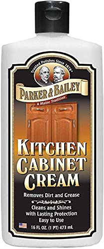 Parker and Bailey Kitchen Cabinet Cream-Wood Cleaner-Grease Remover 16 oz (1)