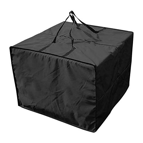 laiyin Large Capacity Organizer,Furniture Seat Cushions Storage Bag Waterproof Pouch For Comforters, Blankets, Bedding, Foldable With Sturdy Zipper