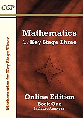 KS3 Maths Textbook 1: Student Online Edition (with answers) (CGP KS3 Maths) by Coordination Group Publications Ltd (CGP)