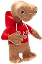 Peluche E.T. Extraterrestre 30 centimetros con sudadera roja con capucha